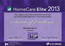 Home Care Elite Award 2013